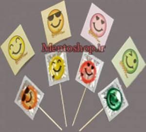 کاندوم آبنباتی Happy Face