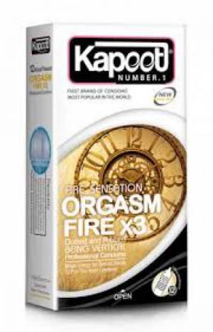 کاندوم orgasm fire x3 کاپوت