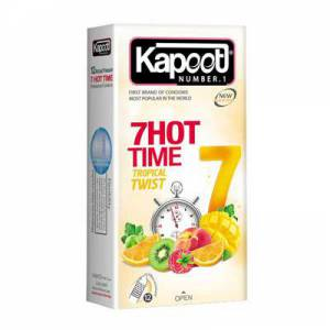 کاندوم کاپوت تاخیری گرم مدل ۷Hot Time
