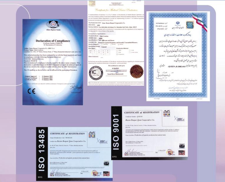 مجوز محصولات